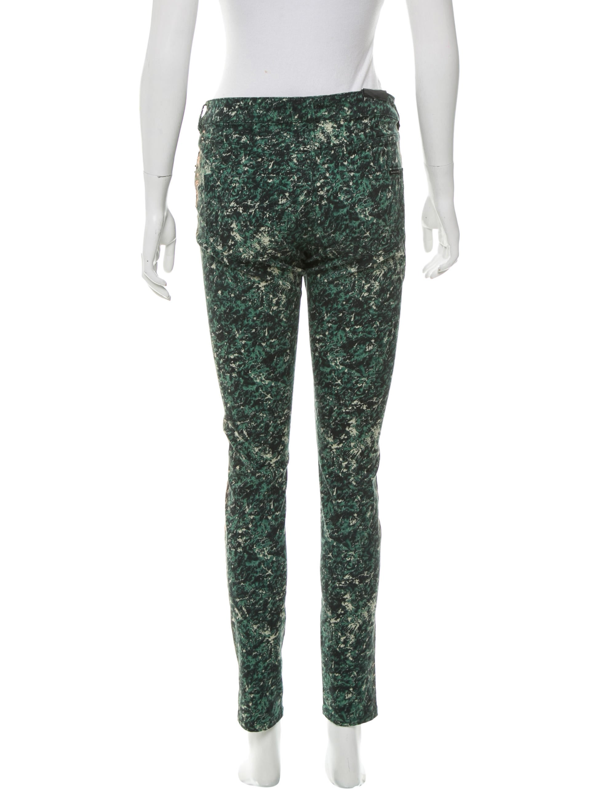 maison scotch abstract print skinny leg jeans w tags clothing wscth20010 the realreal. Black Bedroom Furniture Sets. Home Design Ideas