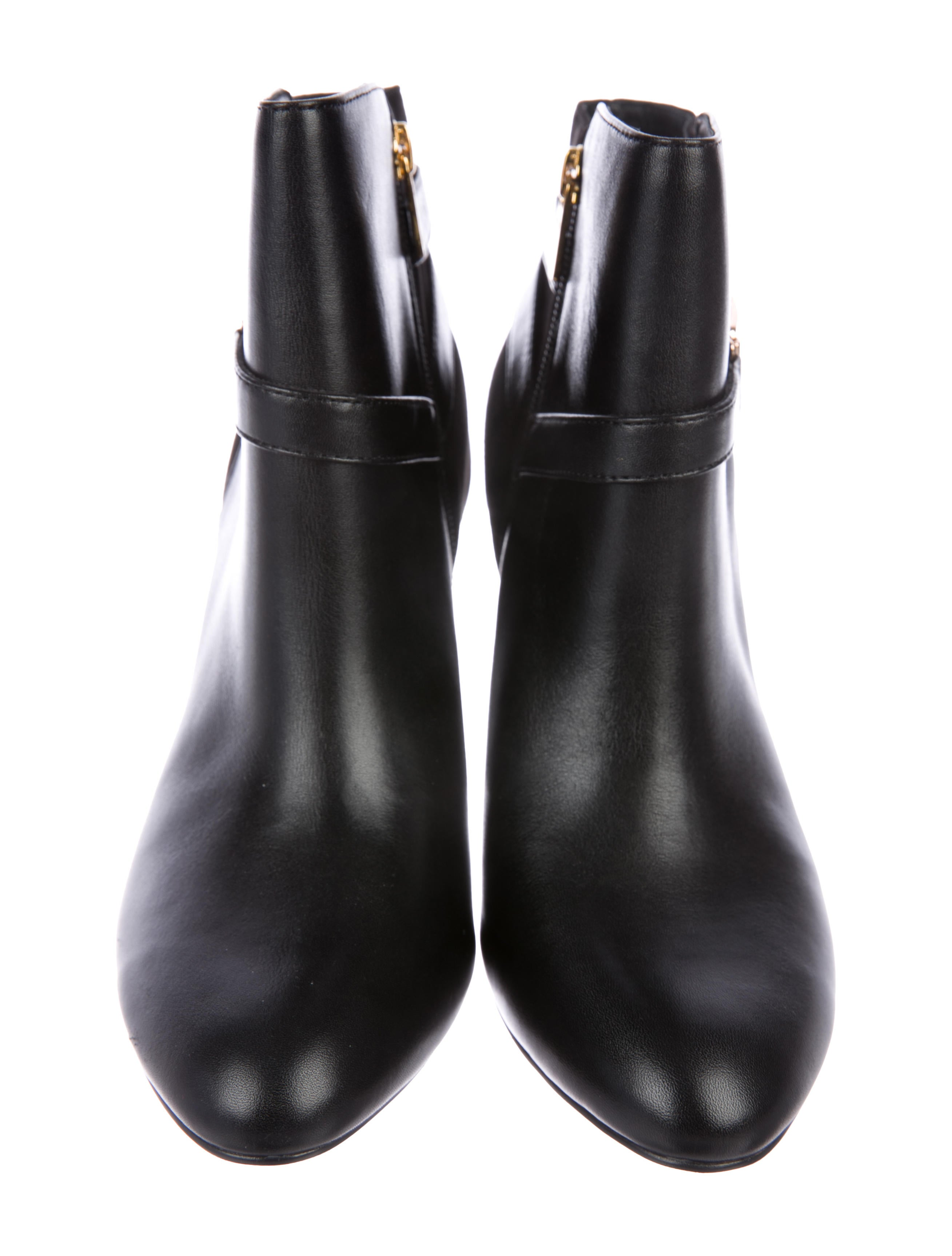 Isolda Leather Ankle Boots buy cheap store fBVq5CUy