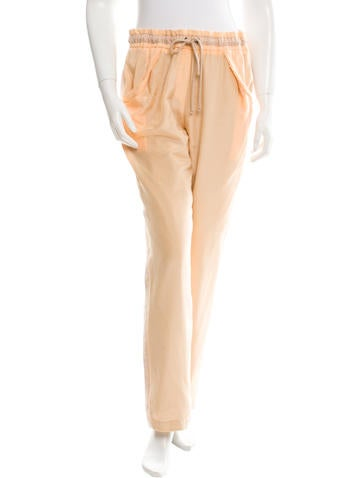 See by Chloé Silk Jogging Pants