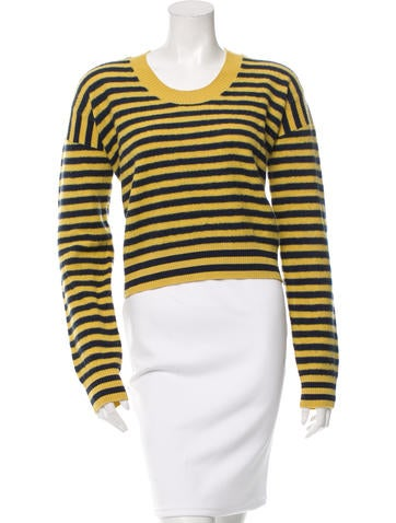 See by Chloé Striped Wool Sweater None