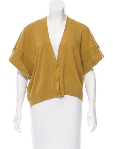 See by Chloé Wool & Cashmere-Blend Cardigan None