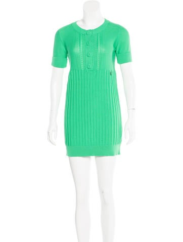 See by Chloé Mini Sweater Dress None