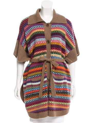 See by Chloé Wool Patterned Cardigan None