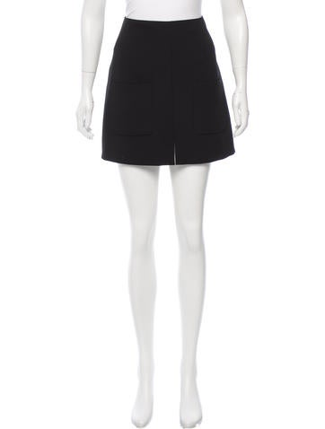 See by Chloé Textured Mini Skirt