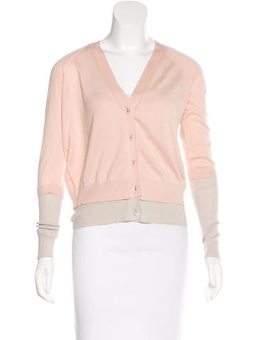 See by Chloé Knit Button-Up Cardigan None