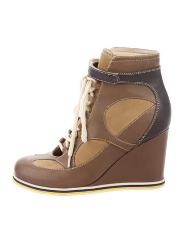See by Chloé Leather Ankle Boots None