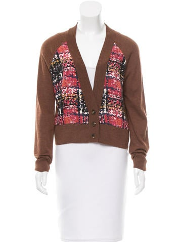 See by Chloé Cropped Wool Cardigan None