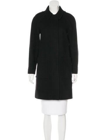 See by Chloé Knee-Length Wool Coat