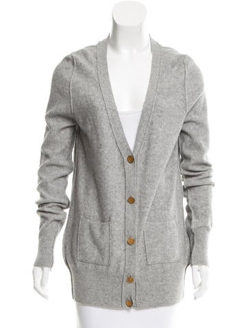 See by Chloé Wool-Blend V-Neck Cardigan None