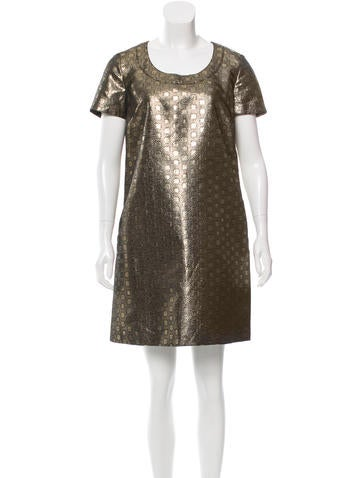 See by Chloé Brocade Shift Dress
