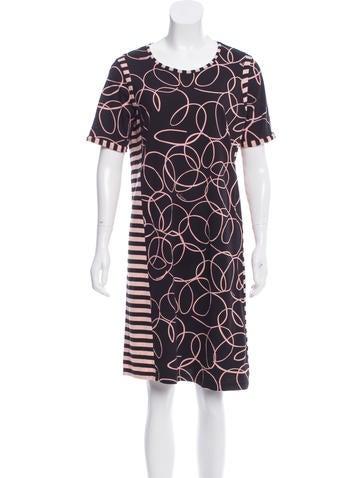 See by Chloé Printed T-Shirt Dress