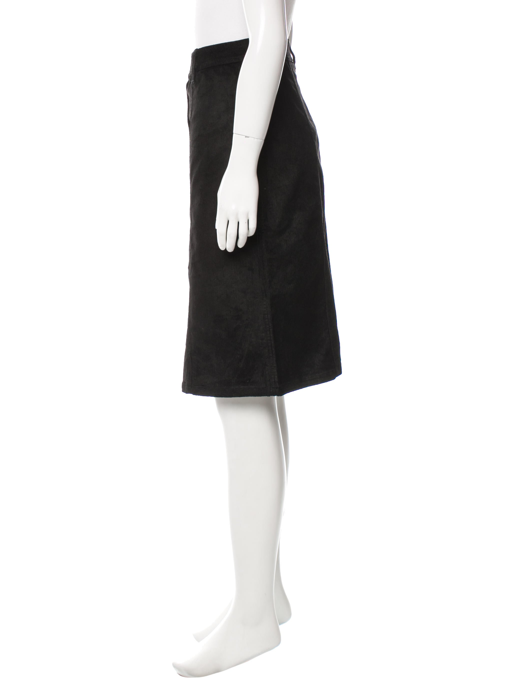 see by chlo 233 corduroy knee length skirt clothing