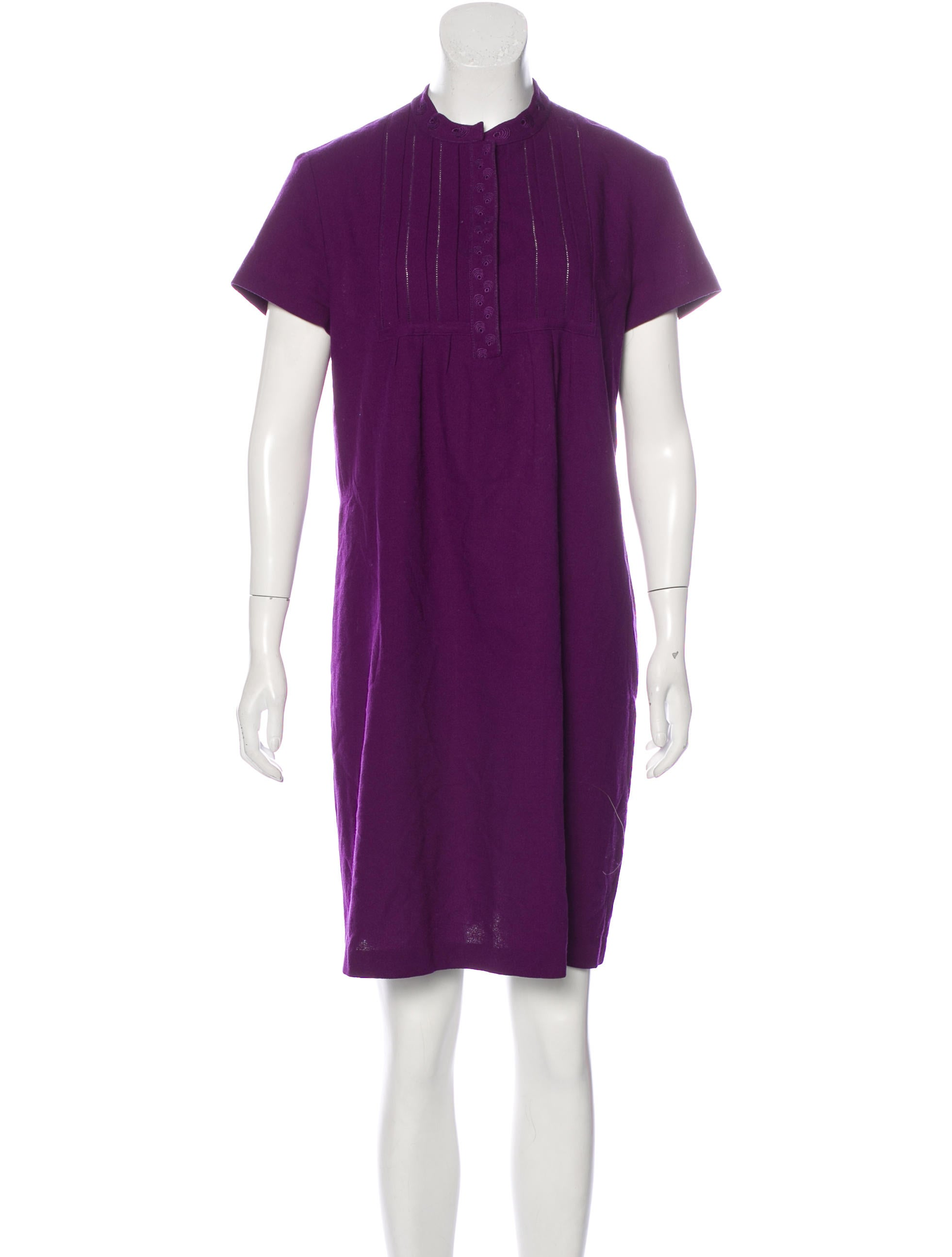 see by chlo 233 wool shift dress clothing wse28185 the