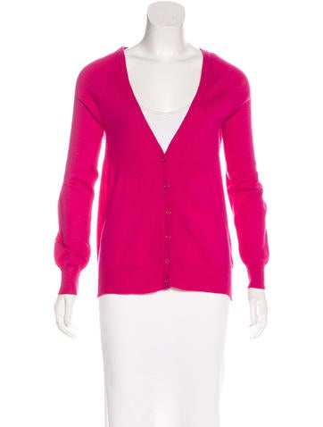 See by Chloé Wool Long Sleeve Cardigan None
