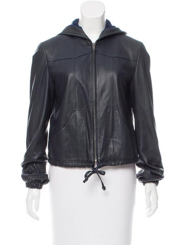 See by chloe leather jacket