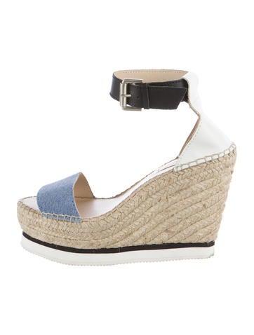 See by Chloé Espadrille Platform Sandals None
