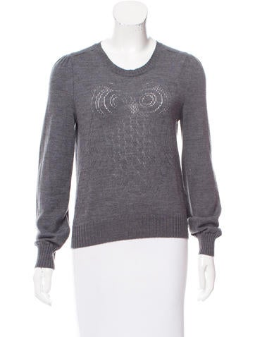 See by Chloé Wool Owl Sweater None