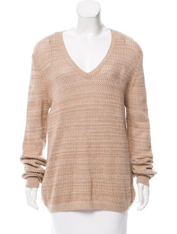 See by Chloé Open Knit Wool Sweater None