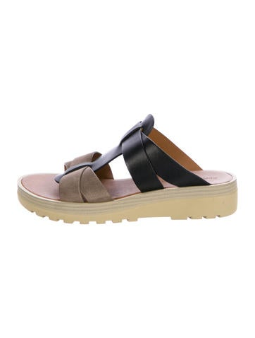 See by Chloé Leather Multistrap Sandals None