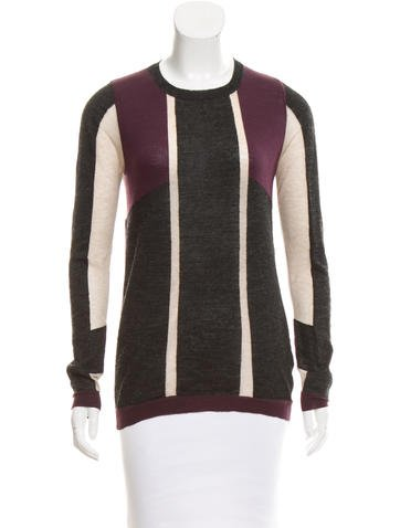 See by Chloé Colorblock Wool Sweater None