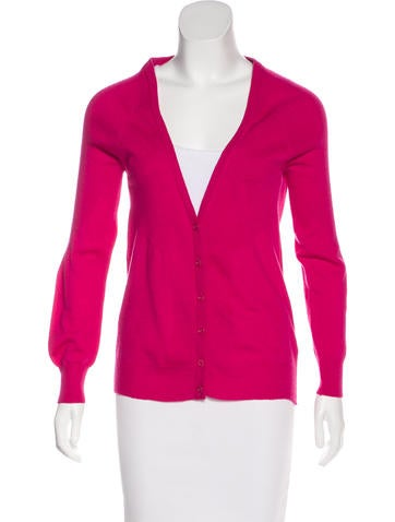 See by Chloé Wool Button-Up Cardigan None