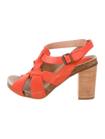 See by Chloé Suede Multistrap Sandals None