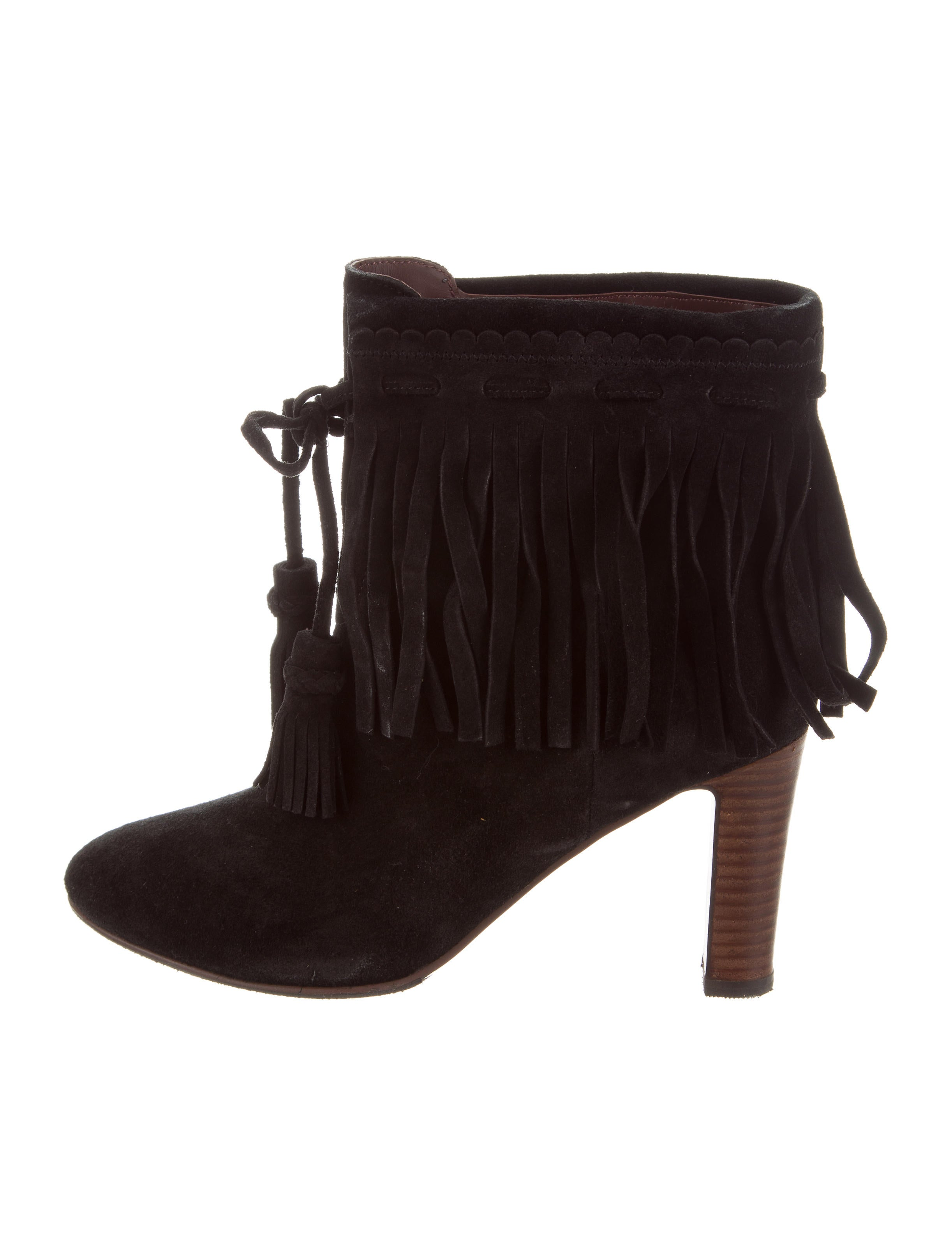 genuine online sale sast See by Chloé Fringe-Trimmed Ankle Boots professional online free shipping comfortable free shipping outlet locations 9cABZ6yGNc