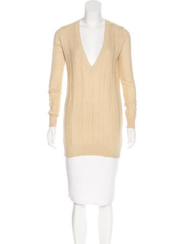 See by Chloé Knit V-Neck Sweater None