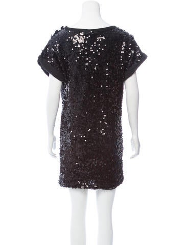 Short Sleeve Sequined Dress w/ Tags