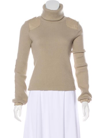 See by Chloé Long Sleeve Turtleneck Sweater None