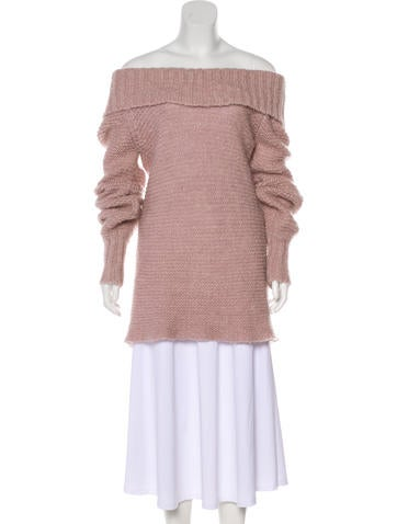 See by Chloé Long Sleeve Knit Sweater None