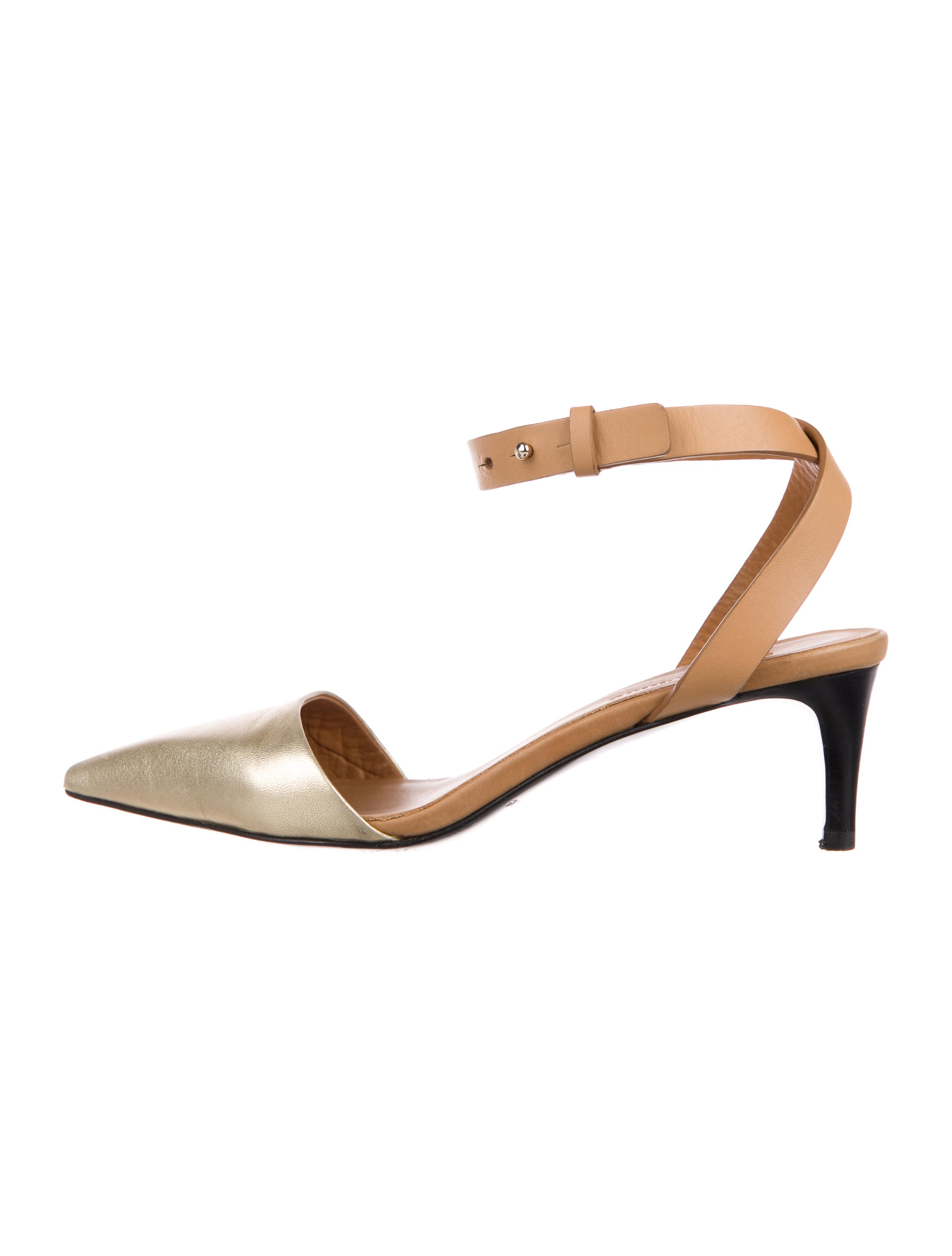 hot sale for sale Chloé Leather Pointed-Toe Pumps with credit card for sale discount eastbay 1zxLlIb