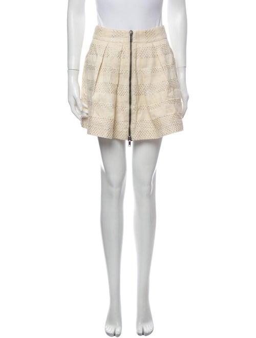 See by Chloé Mini Skirt Metallic