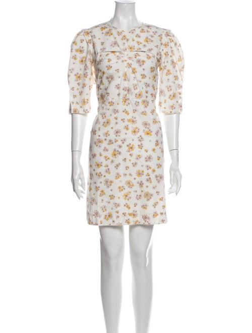 See by Chloé Floral Print Mini Dress