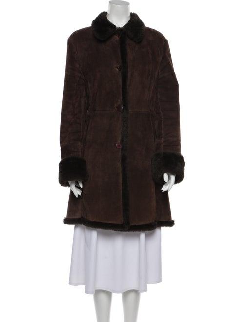 Searle Faux Fur Coat Brown