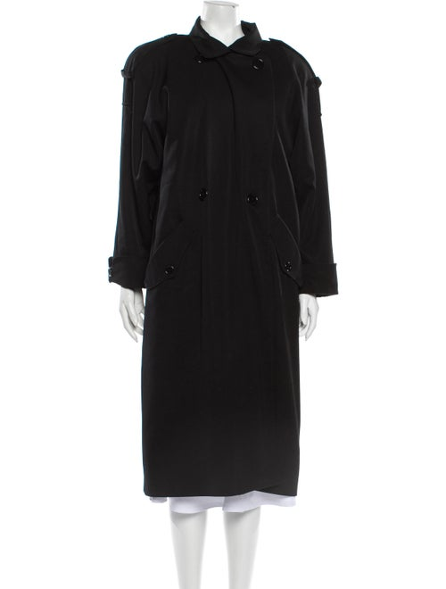 Searle Trench Coat Black