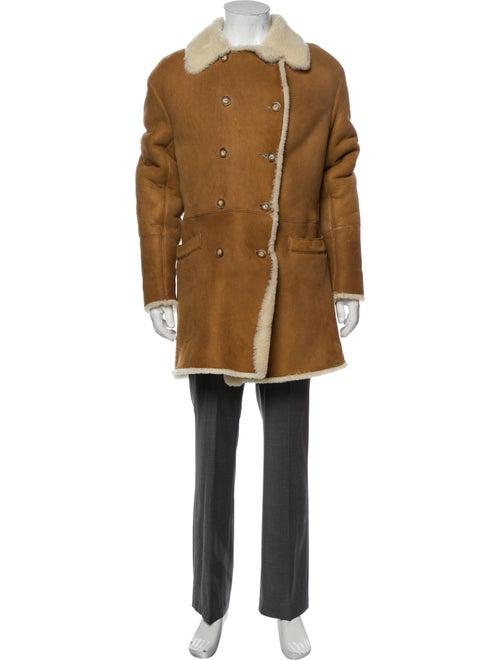 Searle Shearling Coat Brown
