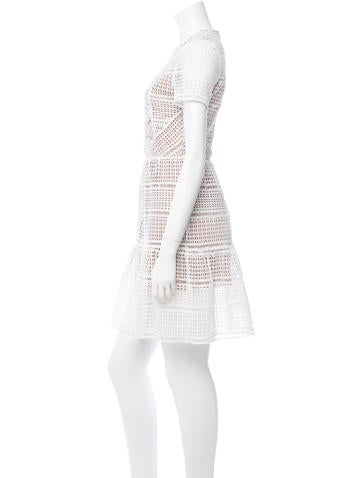 Broderie Anglaise A-Line Dress
