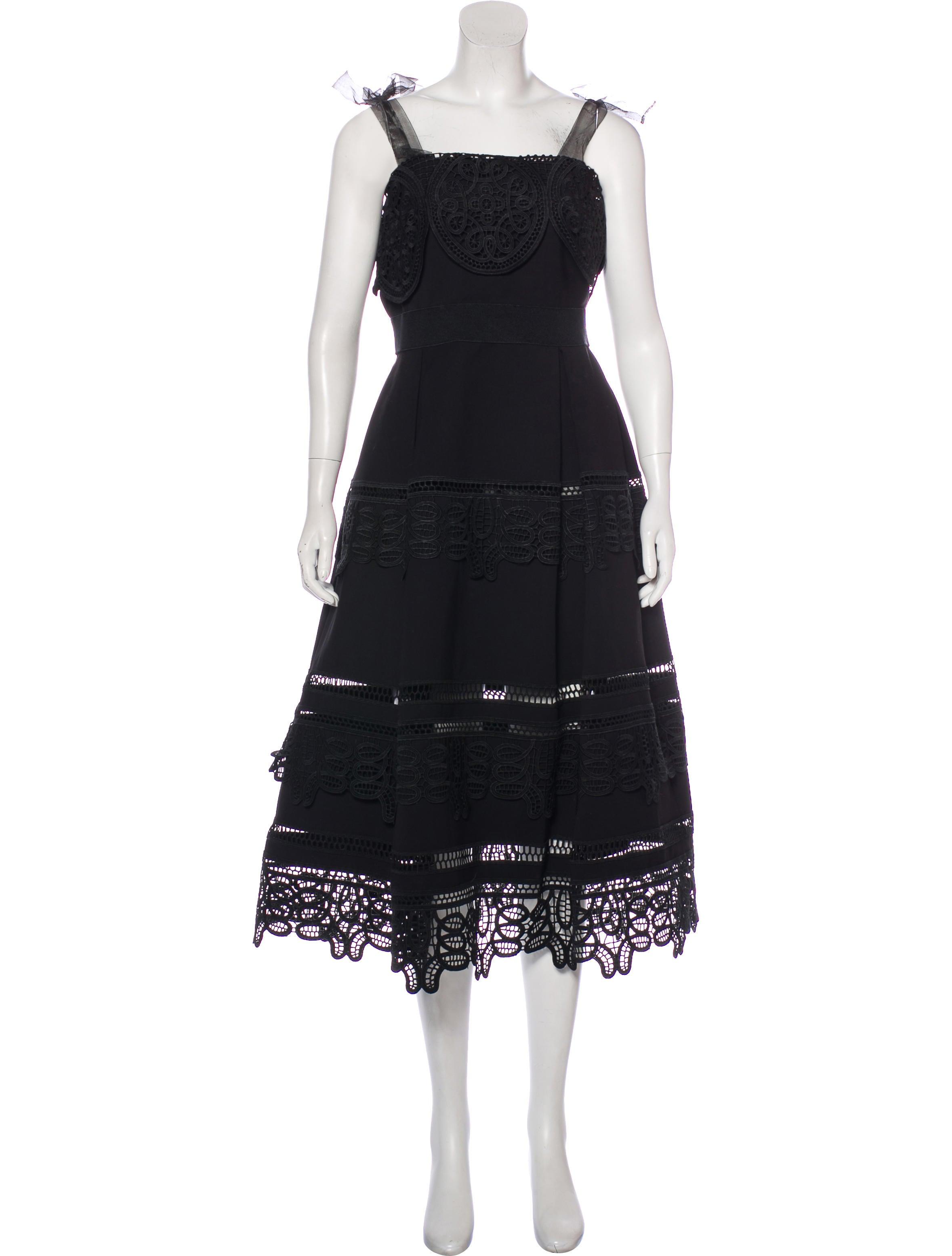 2c494e15cbb Self-Portrait Nightshade Midi Dress - Clothing - WSELF22717