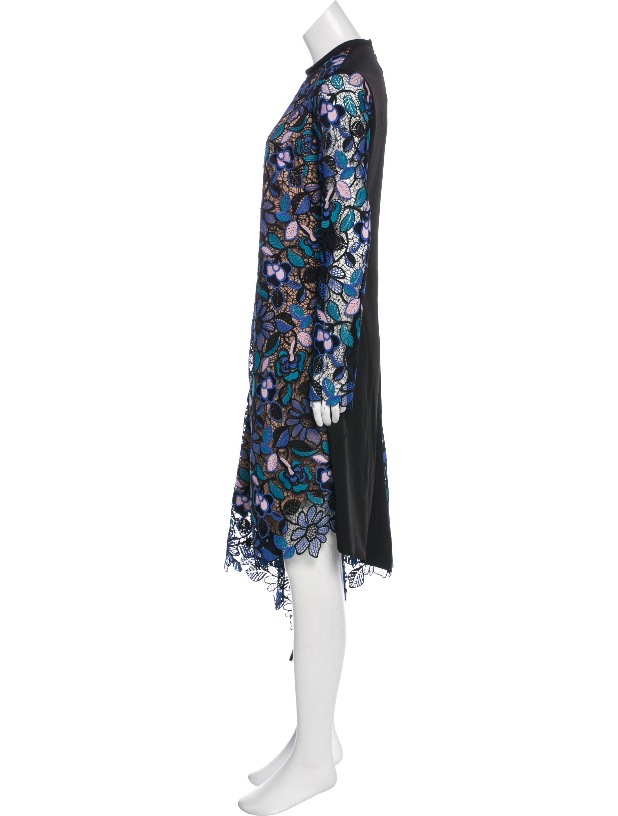b69c1fca4d49f Self-Portrait Elora Midi Dress w/ Tags - Clothing - WSELF25089 | The ...