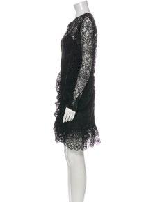 Self-Portrait Scoop Neck Knee-Length Dress w/ Tags