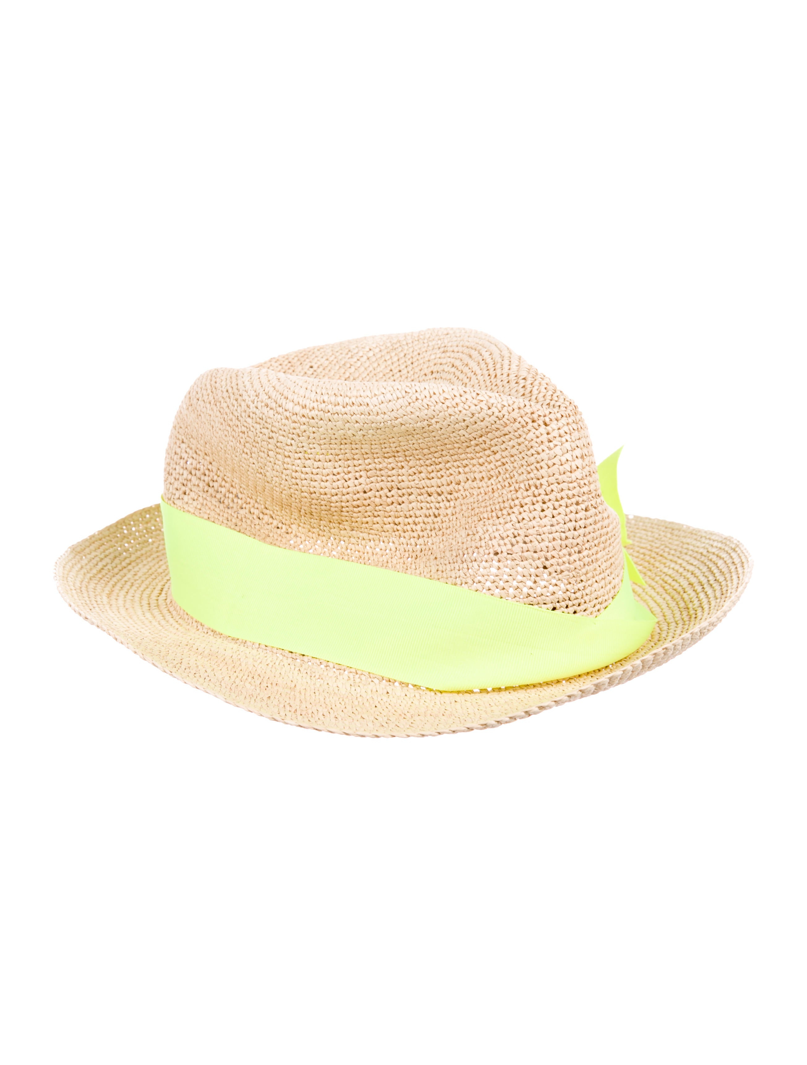 Sensi Studio Bow-Accented Straw Hat - Accessories - WSENS20124  935d13aed6d0