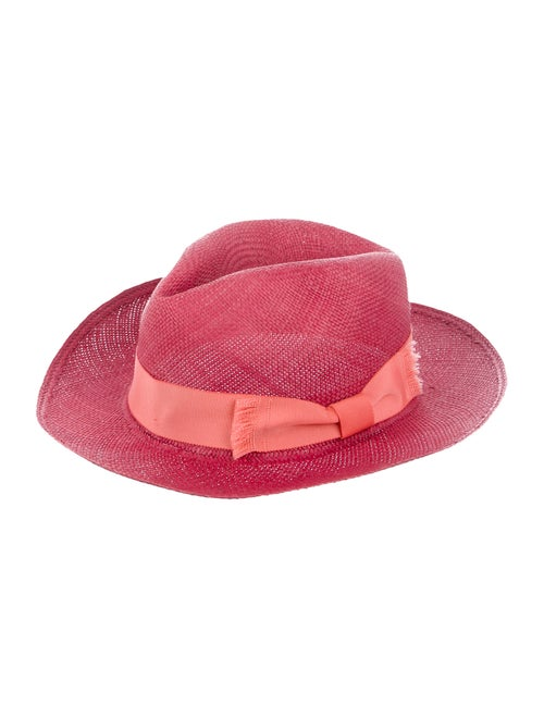 Sensi Studio Raffia Fedora Hat