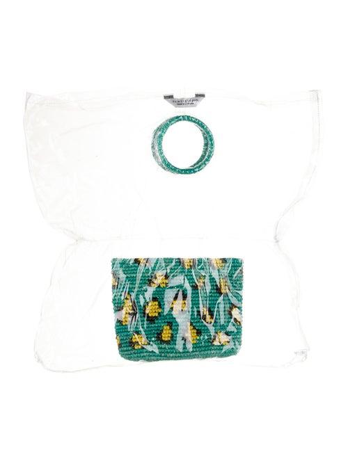 Sensi Studio PVC Handle Bag Clear