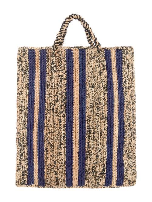 Soeur Straw Tote Bag