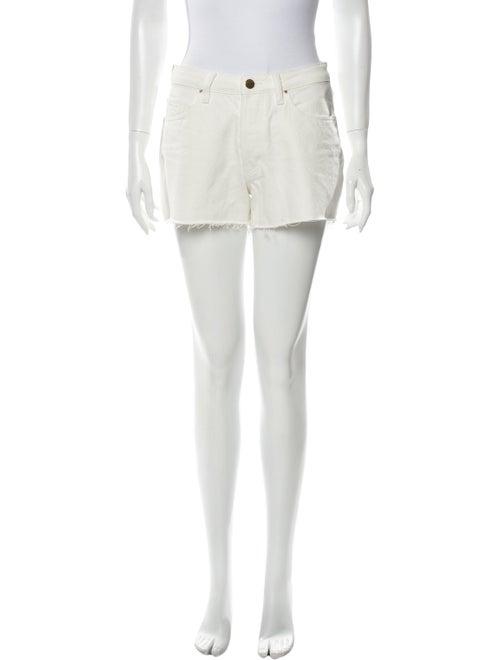 Sézane Mini Shorts White