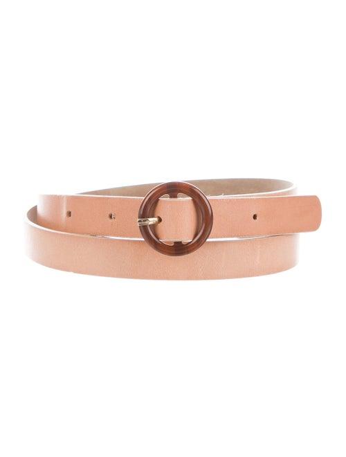 Sézane Leather Maud Belt Tan