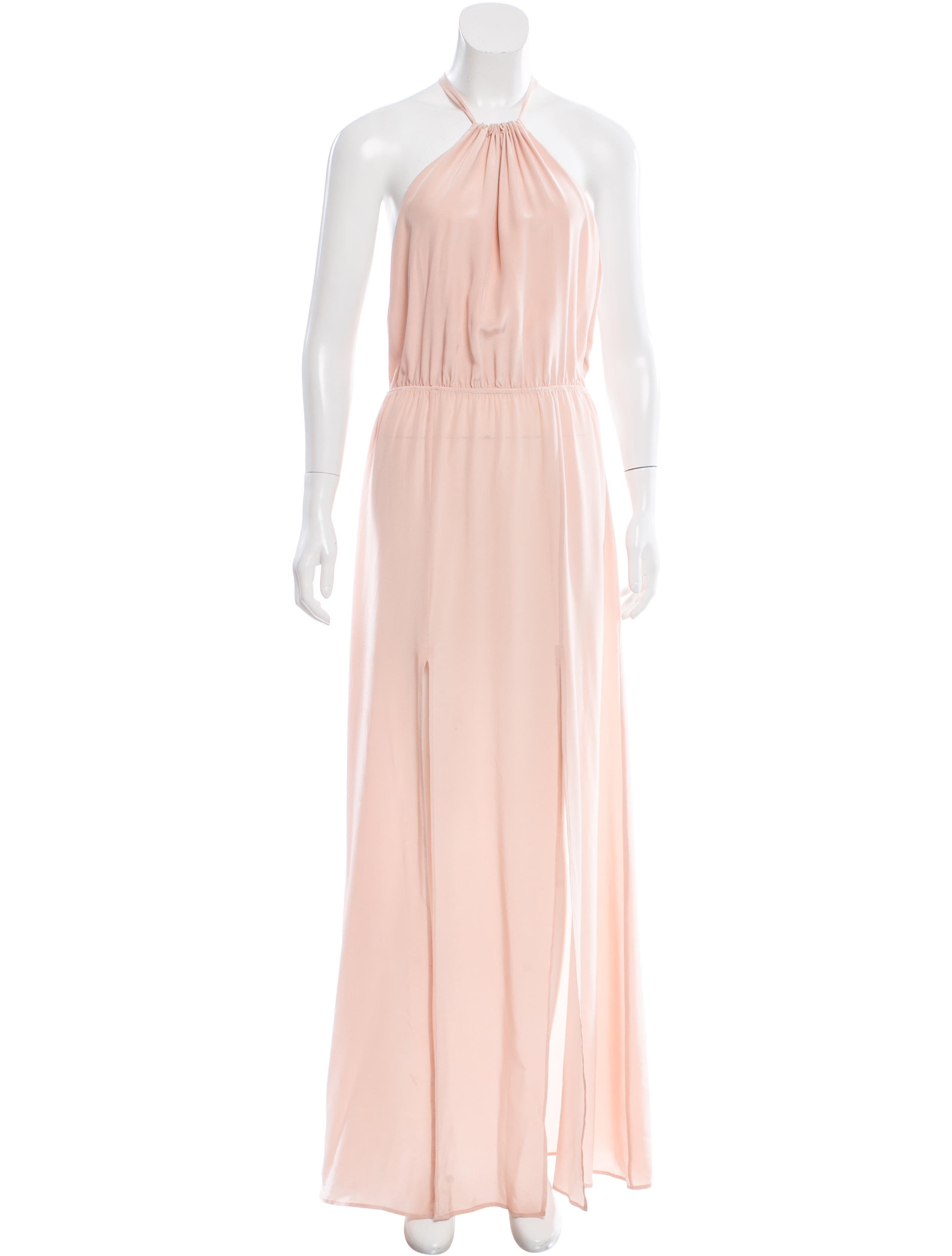 Stone Cold Fox Silk Halter Dress w/ Tags - Clothing - WSFOX20065 ...