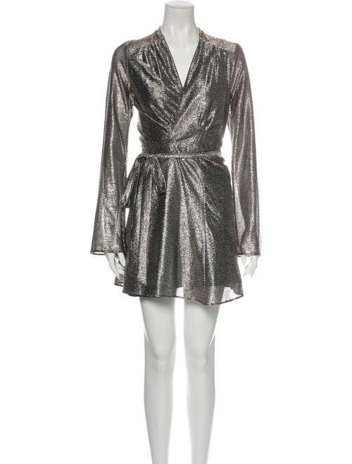 Stone Cold Fox Sedgwick Mini Dress Silver
