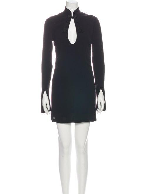 Stone Cold Fox Mini Dress Black